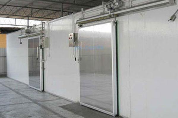 不锈钢电动平移门-冷库门系列-常州冷库-常州冷库板